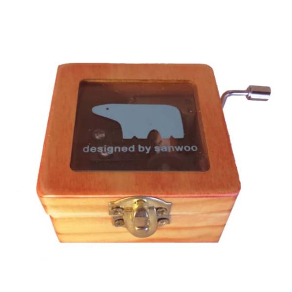 جعبه موزیکال مدل Designed by sanwoo