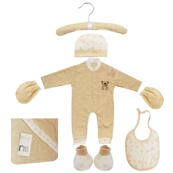 ست 7 تکه لباس نوزادی مادرکر طرح خرس کد M454.8