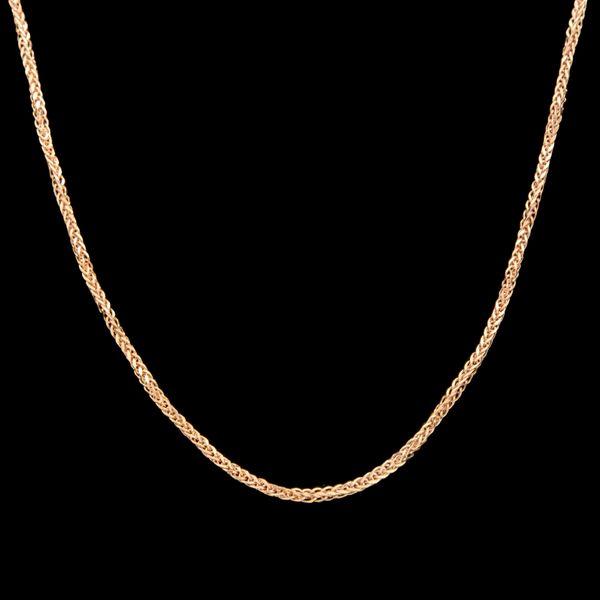 زنجیر طلا 18 عیار زنانه طلای مستجابی مدلمیرو کد M07