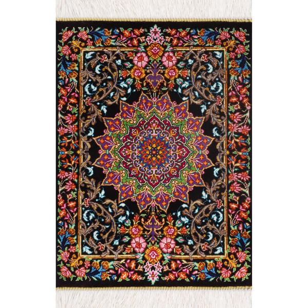 فرش دستباف نیم متری طرح ترنج کد 12