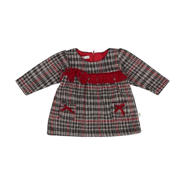 پیراهن نوزادی دخترانه فیورلا مدل 20538
