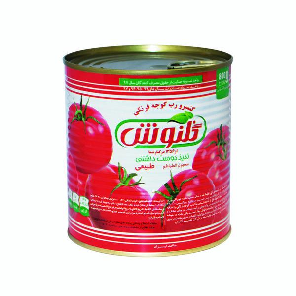 رب گوجه فرنگی گلنوش 800 گرمی