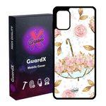 کاور گارد ایکس طرح Flower مدل Glass10107 مناسب برای گوشی موبایل سامسونگ Galaxy A31
