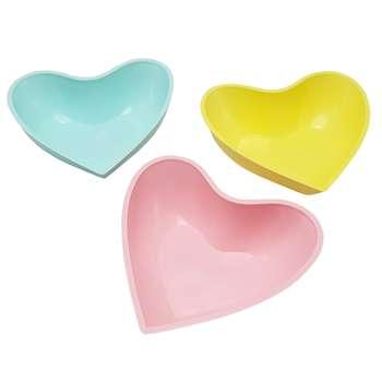 پیاله طرح قلب کد 4967 مجموعه 3 عددی