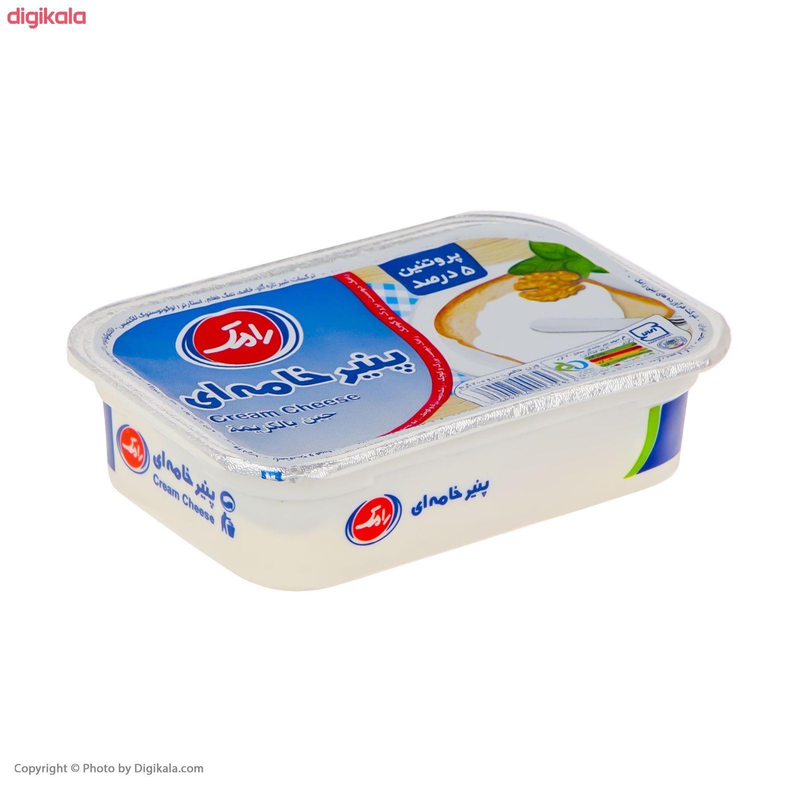 پنیر خامه ای رامک وزن 200 گرم main 1 2