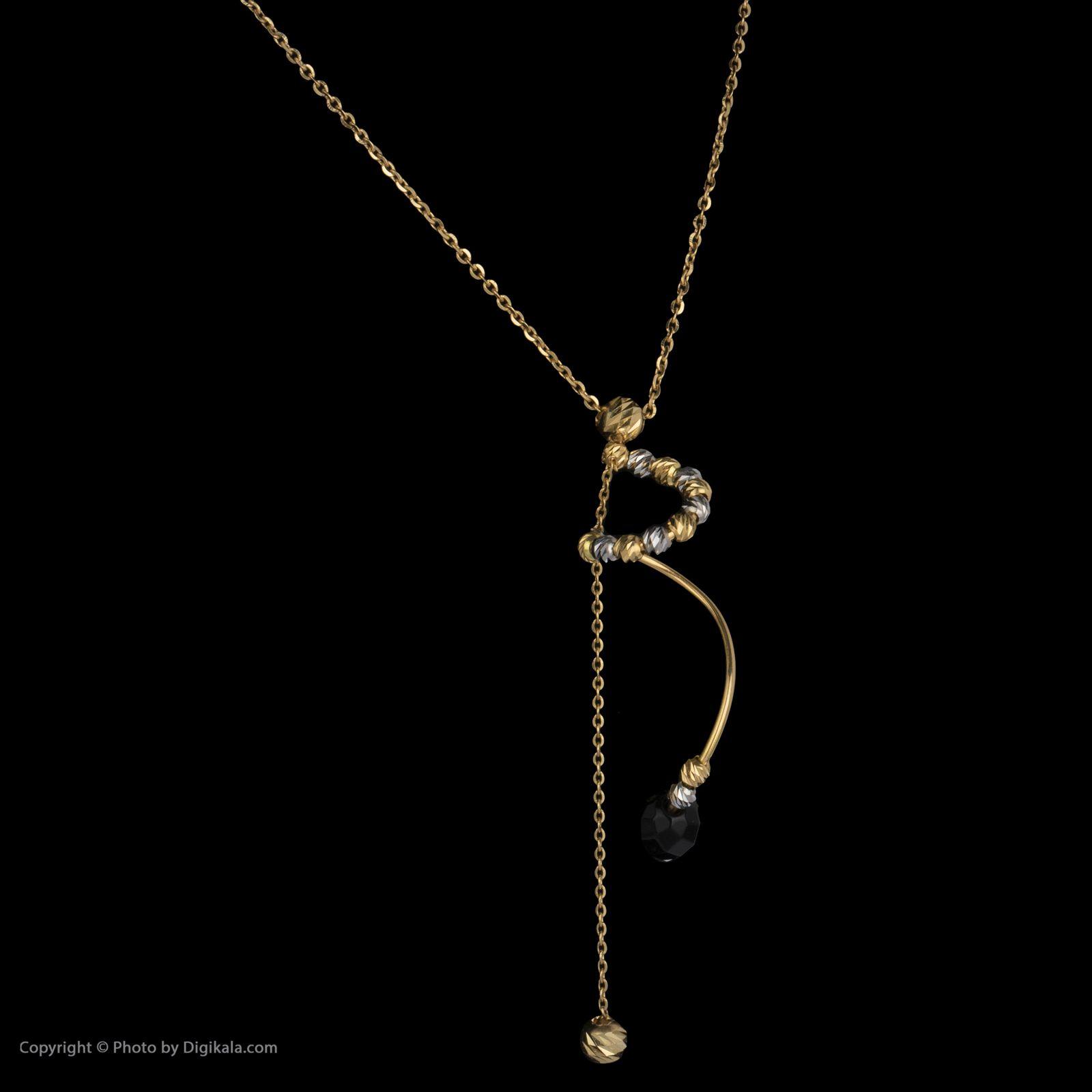 گردنبند طلا 18 عیار زنانه سیودو مدل 145719 -  - 4