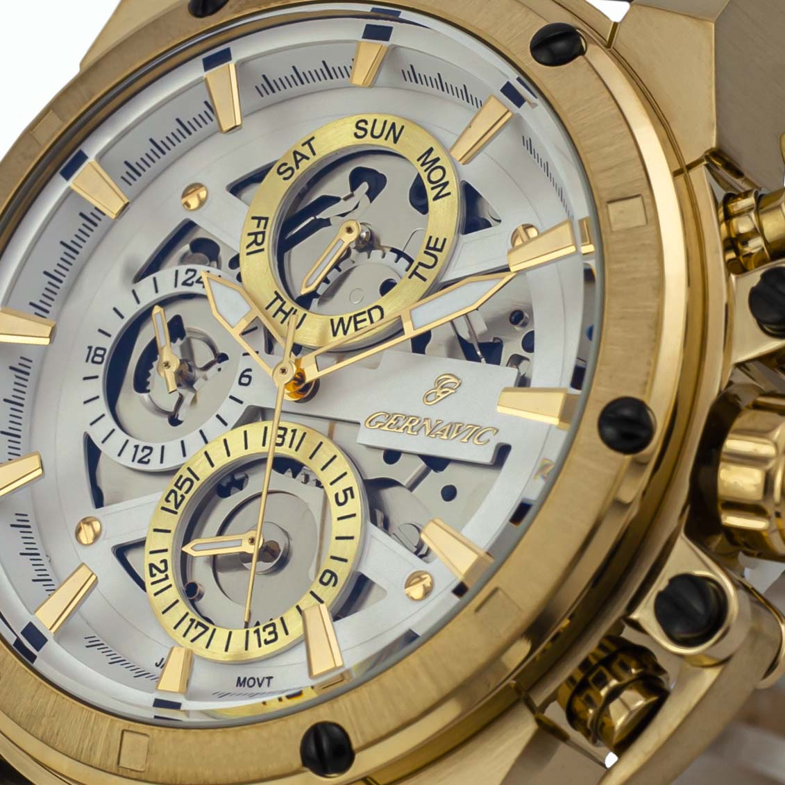 ساعت مچی عقربهای مردانه گرناویچ مدل 450MBrGW