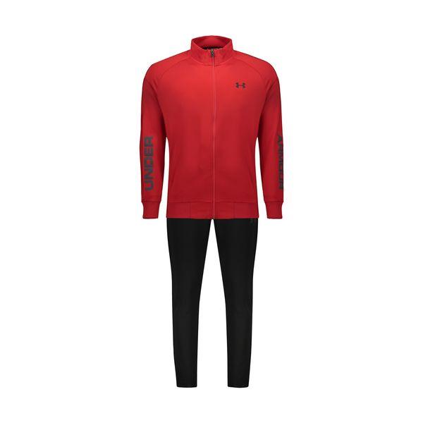 ست گرمکن و شلوار ورزشی مردانه آندر آرمور مدل 3158006REDSET