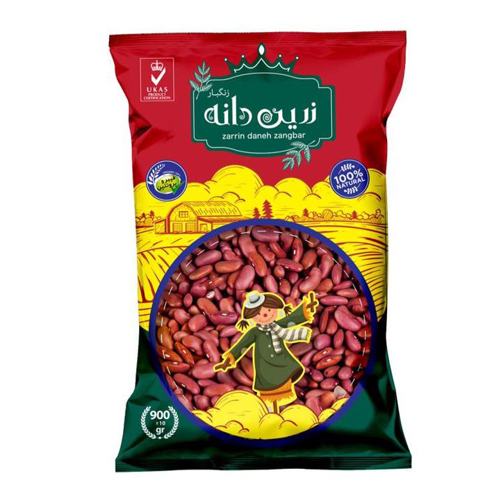 Zarrin daneh zangbar Capsule beans- 900 grams