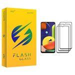 محافظ صفحه نمایش فلش مدل +HD مناسب برای گوشی موبایل سامسونگ Galaxy A50s بسته سه عددی