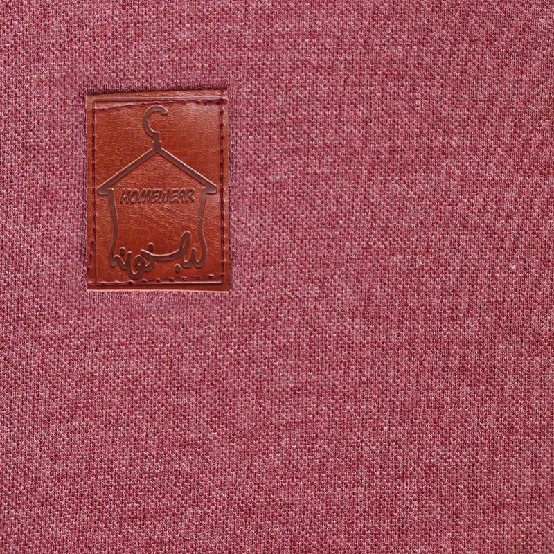 ست تی شرت و شلوار مردانه لباس خونه کد 990503 رنگ زرشکی