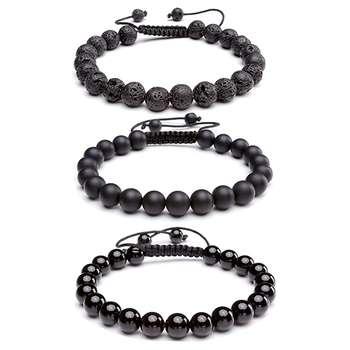 دستبند مردانه ذاریات مدل OL263 مجموعه 3 عددی