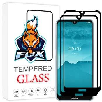 محافظ صفحه نمایش فوکس مدل PT001 مناسب برای گوشی موبایل نوکیا 6.2 بسته دو عددی