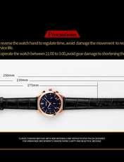 ساعت مچی عقربه ای مردانه اسکمی مدل 9127M-NP -  - 5