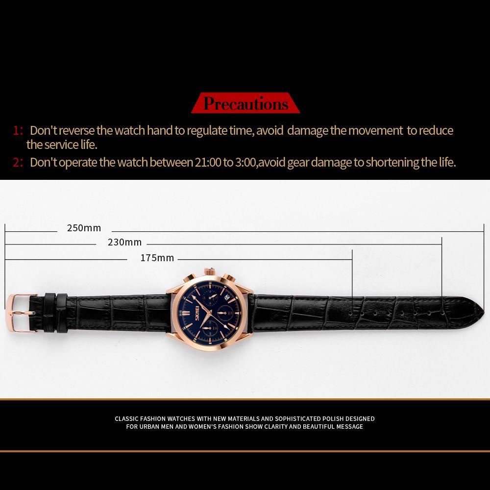 ساعت مچی عقربه ای مردانه اسکمی مدل 9127M-NP -  - 6