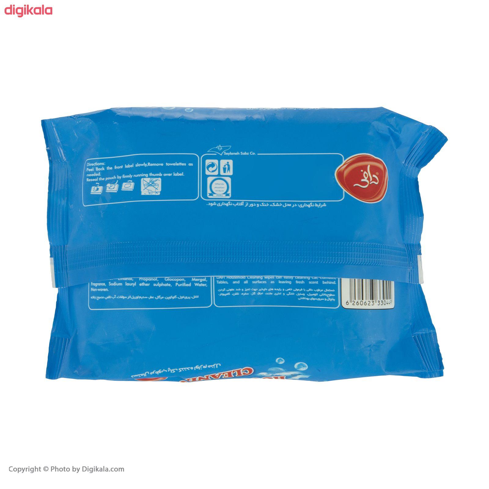 دستمال مرطوب دافی مدل Household Cleaning main 1 2