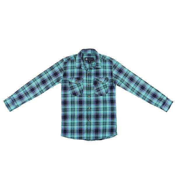 پیراهن پسرانه ناوالس کد R-20119-GN