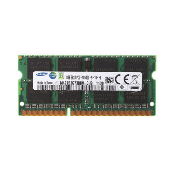 رم لپ تاپ DDR3 تک کاناله 1333 مگاهرتز CL19 سامسونگ مدل ch9 ظرفیت 8 گیگابایت
