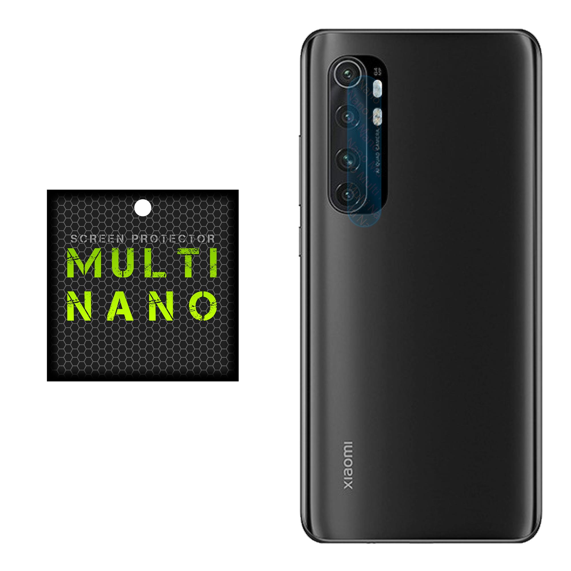 محافظ لنز دوربین مولتی نانو مدل Pro مناسب برای گوشی موبایل شیائومی Mi Note 10 Lite