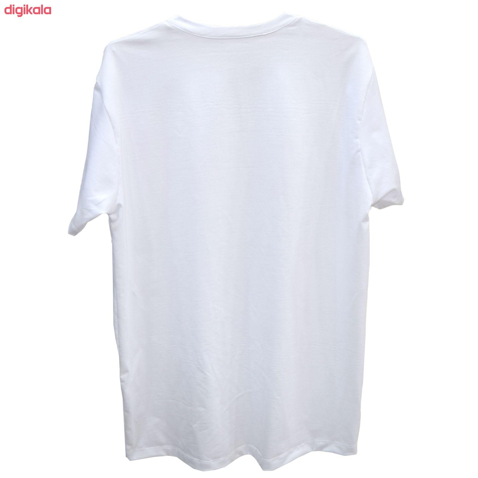 تی شرت آستین کوتاه زنانه طرح فرندز کد Z84 main 1 1
