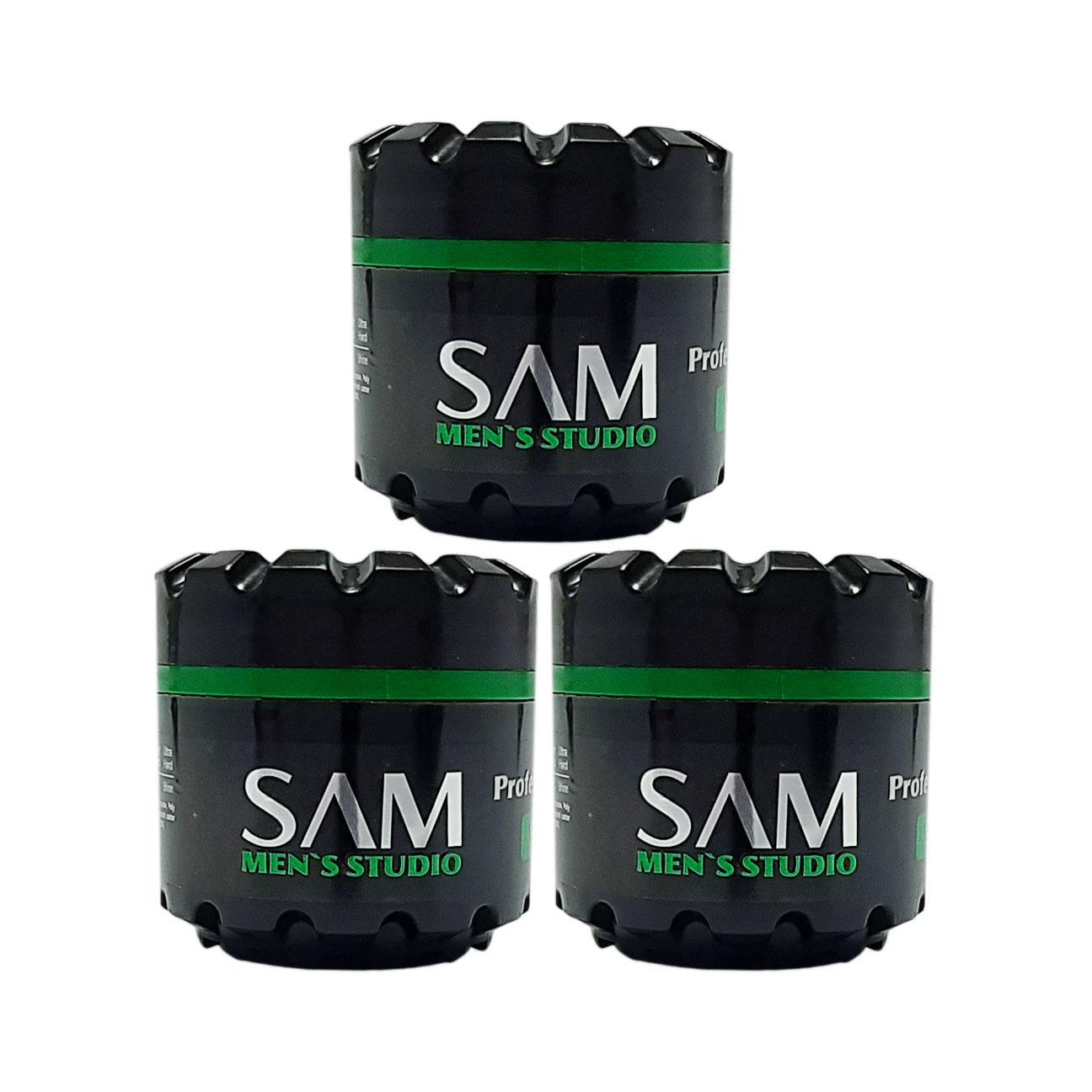 واکس مو سام مدل Olive Oil حجم 140 میلی لیتر مجموعه ۳ عددی