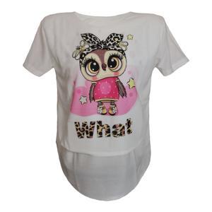 تی شرت زنانه مدل h-owl-WE