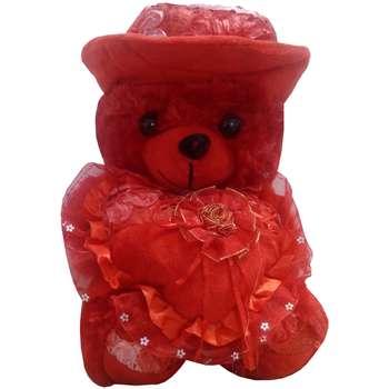 عروسک طرح خرس مدل قلب ارتفاع 65 سانتی متر