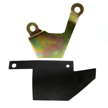 محافظ قفل کاپوت مدل TK مناسب برای پژو 206 به همراه محافظ سیم کاپوت