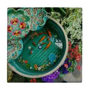 کاشی طرح حوض ماهی کد WK577