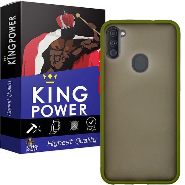 کاور کینگ پاور مدل M21 مناسب برای گوشی موبایل سامسونگ Galaxy A11