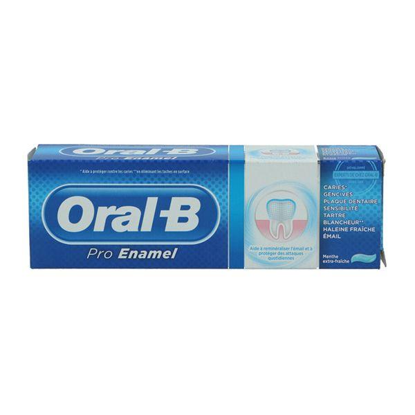 خمیر دندان اورال-بی مدل Pro Enamel حجم 75 میلی لیتر