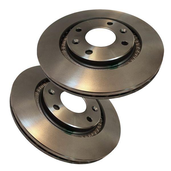 دیسک ترمز چرخ جلو کد 4002 مناسب برای پژو 405 بسته 2 عددی