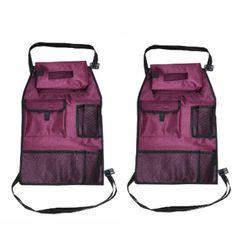 کیف پشت صندلی خودرو مدل 17 بسته دو عددی