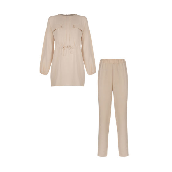 مانتو و شلوار زنانه ترندیول مدل Pocket Tunic Trousers