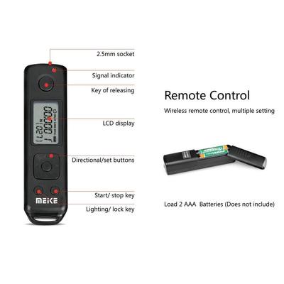 گریپ باتری دوربین مایک مدل Pro مناسب برای دوربین سونی A7R III به همراه ریموت بی سیم