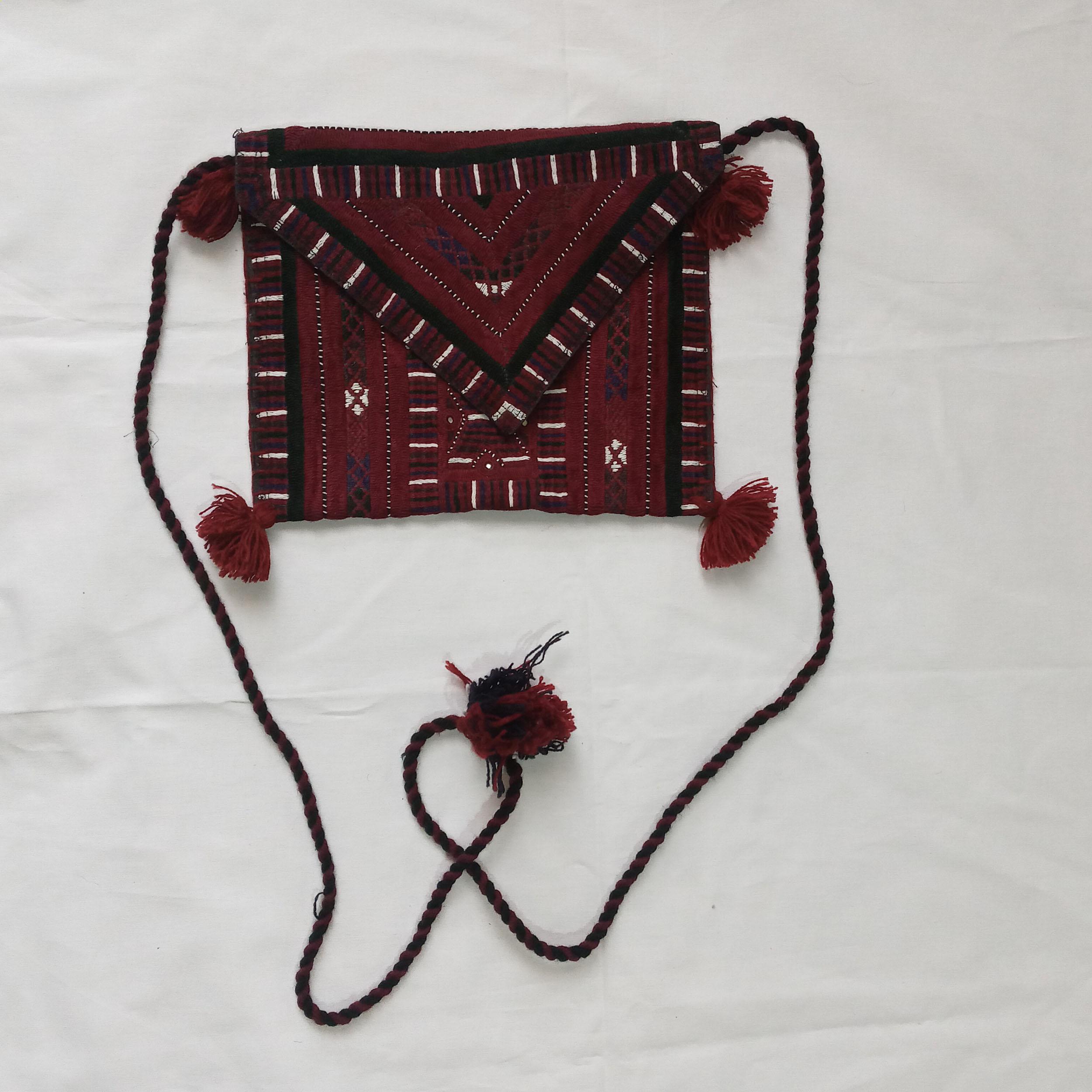 کیف دوشی دست دوز زنانه مدل H004KI