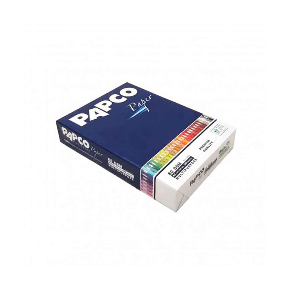 قیمت خرید کاغذ A5 پاپکو مدل پریمیوم بسته 500 عددی اورجینال