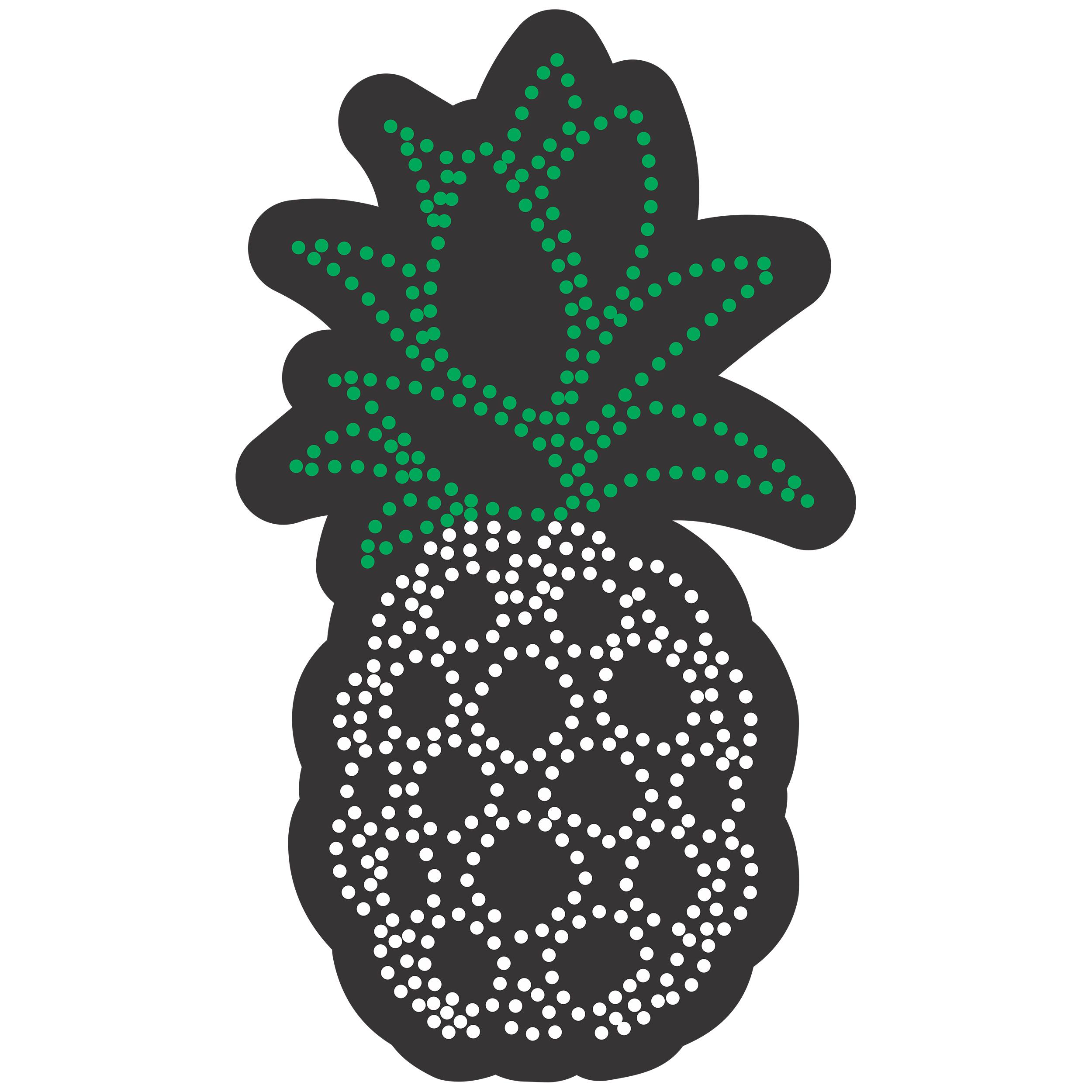 تابلو ال ای دی آیاز طرح میوه آناناس کد 479