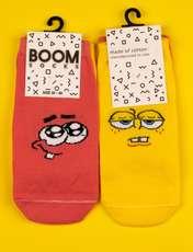 جوراب زنانه بوم طرح باب اسفنجی کد SKB-2010 -  - 2