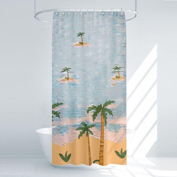 پرده حمام آرمیتا کد W016 سایز 180 × 200 سانتی متر