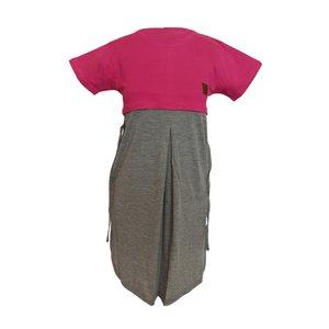پیراهن بارداری کد 1100 رنگ سرخابی