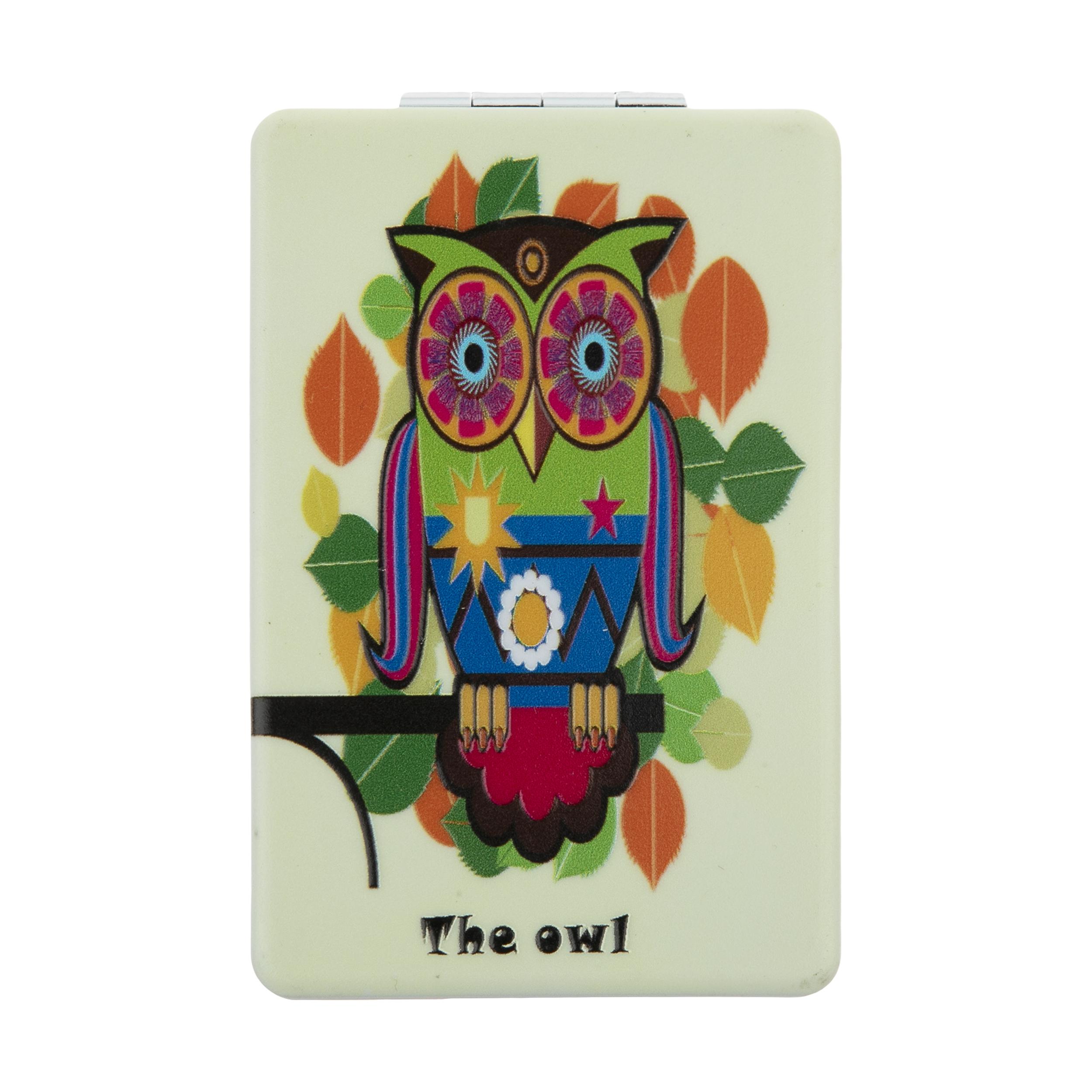 خرید                       آینه جیبی مدل OWL کد 29