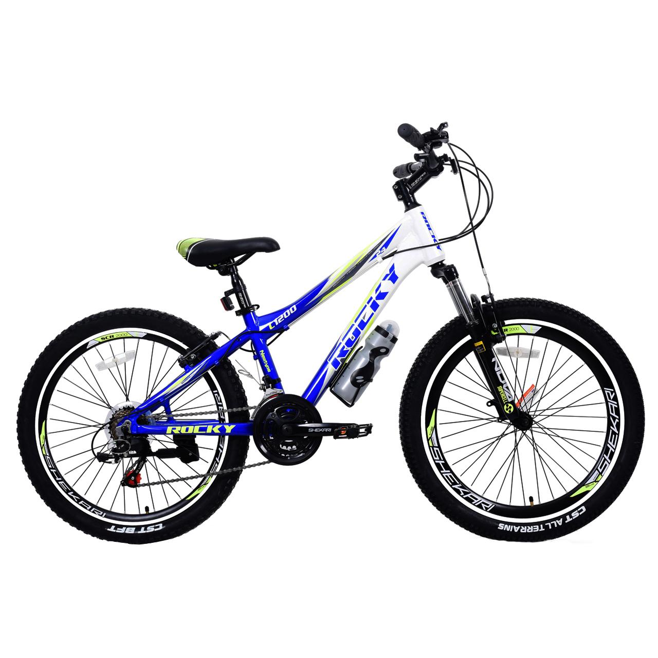 دوچرخه کوهستان راکی مدل C1200 سایز 24