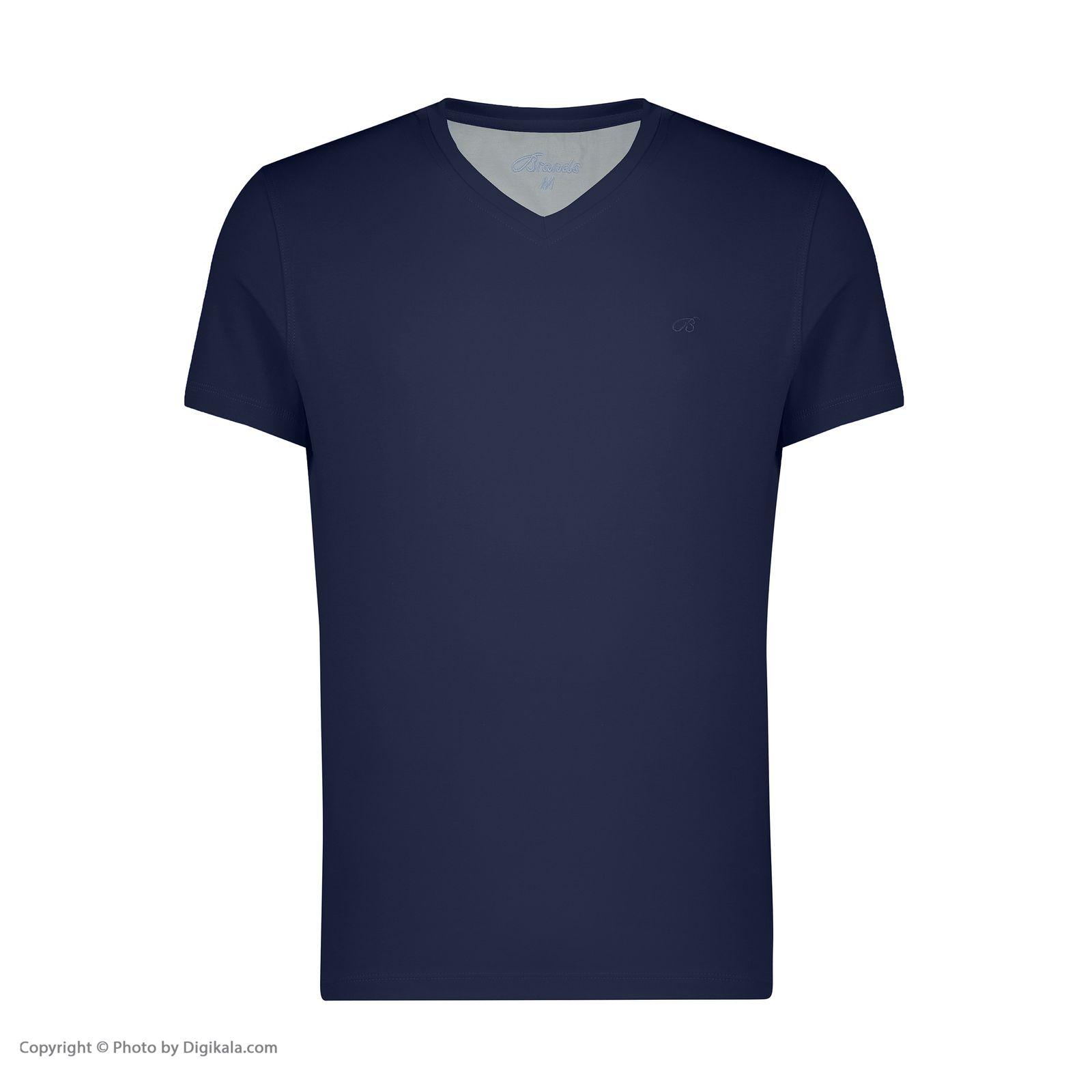 تیشرت آستین کوتاه مردانه برندس مدل 2289C02 -  - 3