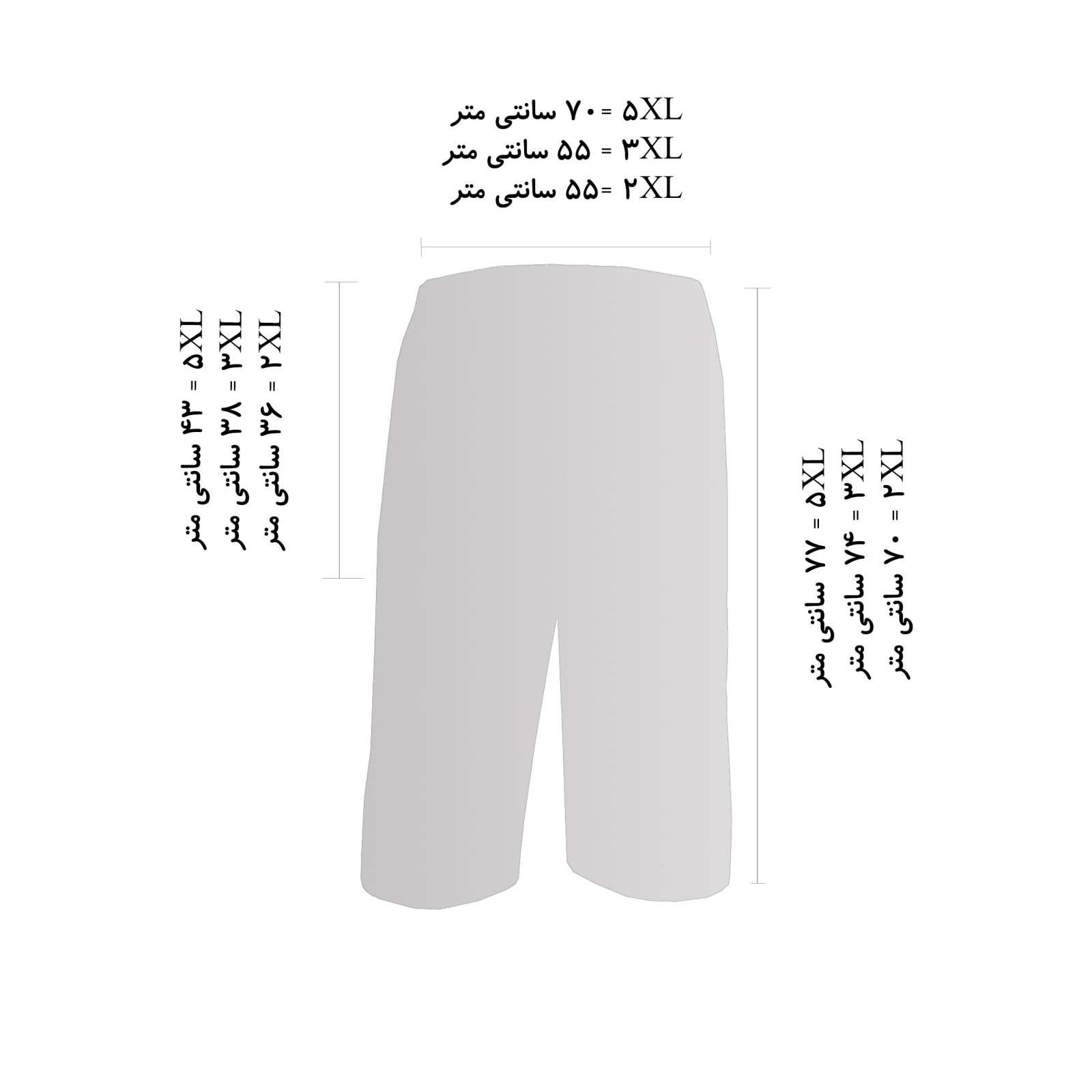 شلوارک مردانه فتوحی کد RK-40581 -  - 4