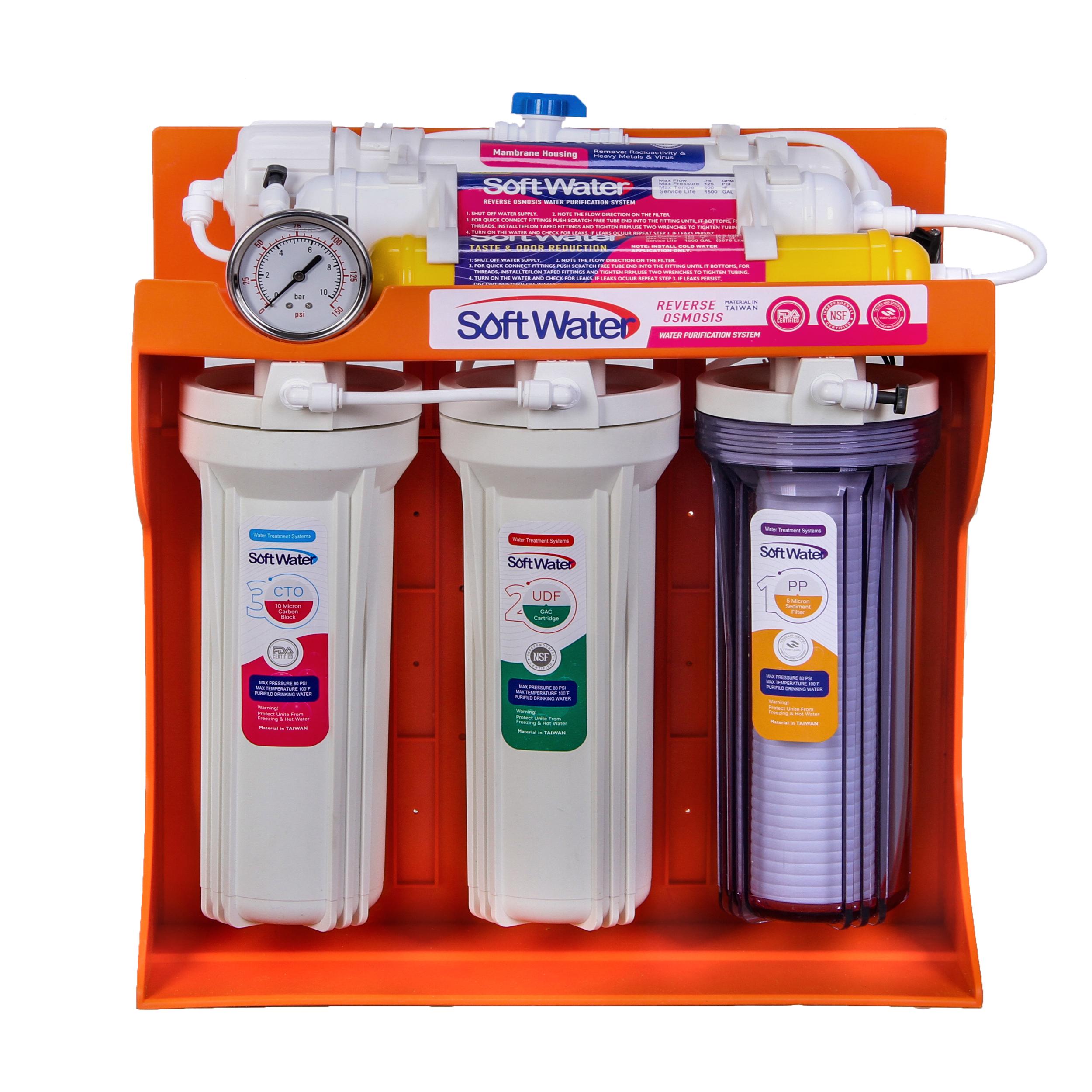 دستگاه تصفیه کننده آب خانگی سافت واتر مدل 01