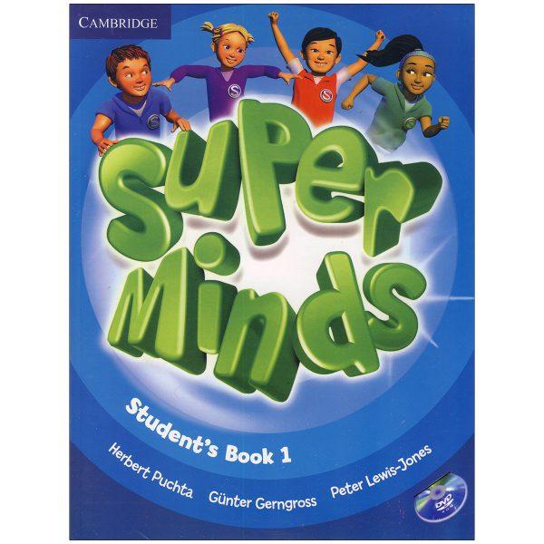 خرید                      کتاب Super Minds 1 اثر جمعی از نویسندگان انتشارات زبان مهر
