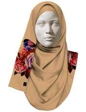 روسری زنانه 27 طرح پرنده و گل کد H06 -  - 2