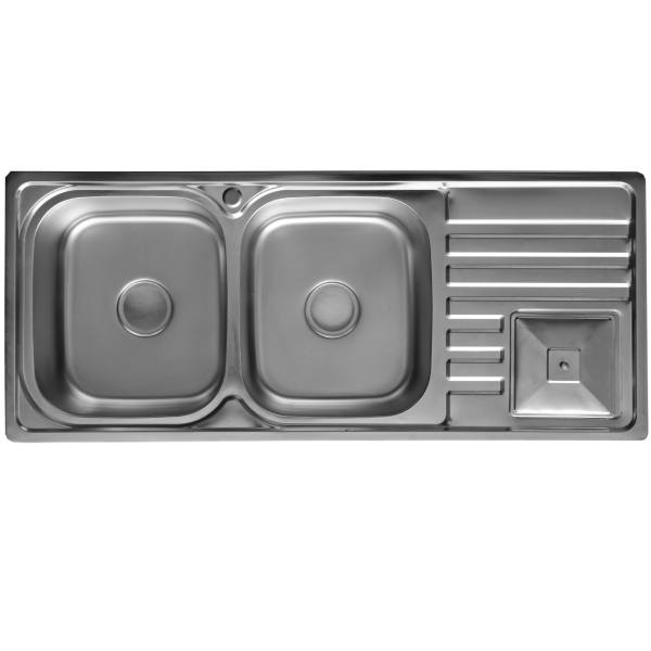 سینک ظرفشویی هوم ال هاوس مدل OT3725 توکار