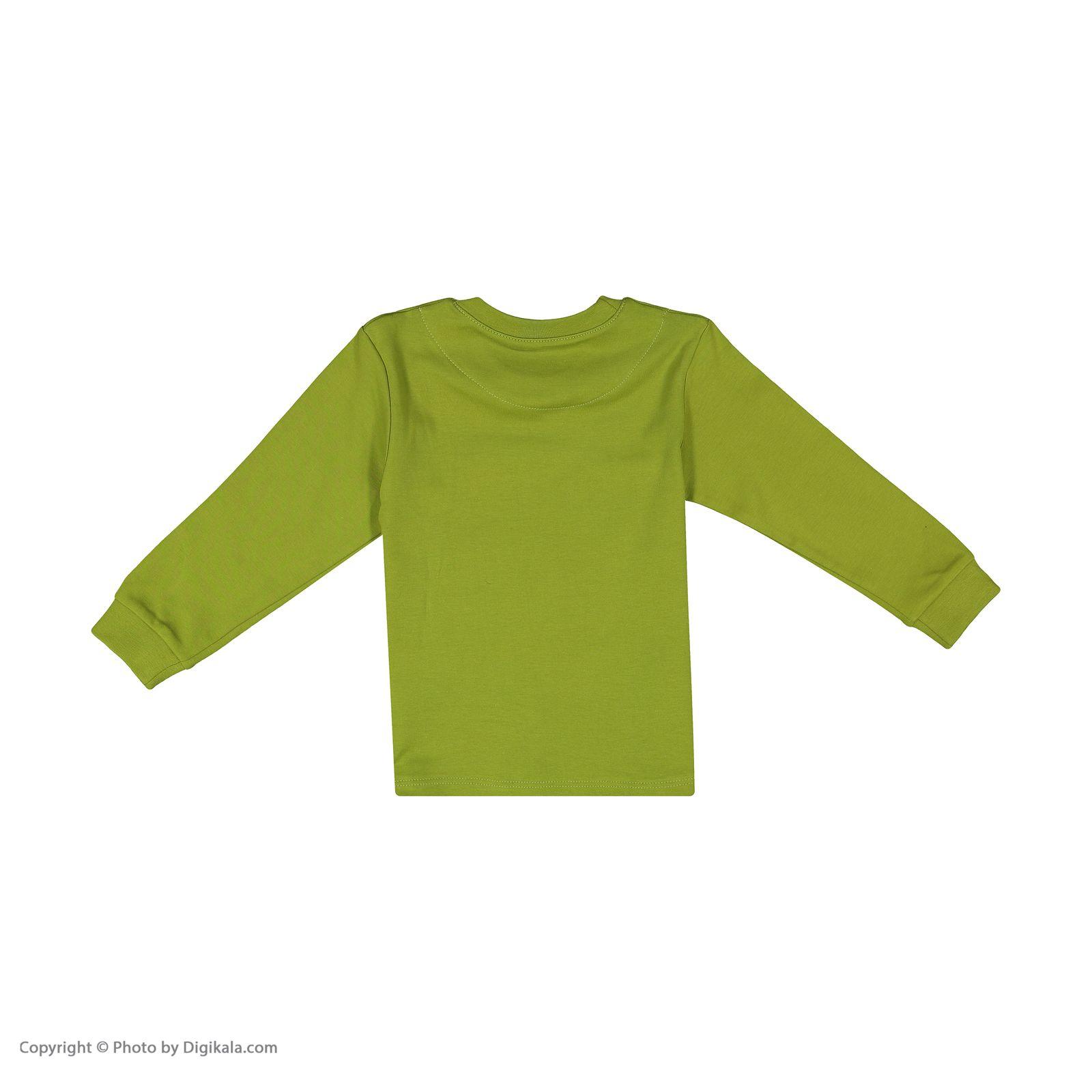 ست تی شرت و شلوار پسرانه مادر مدل 318-42 main 1 3